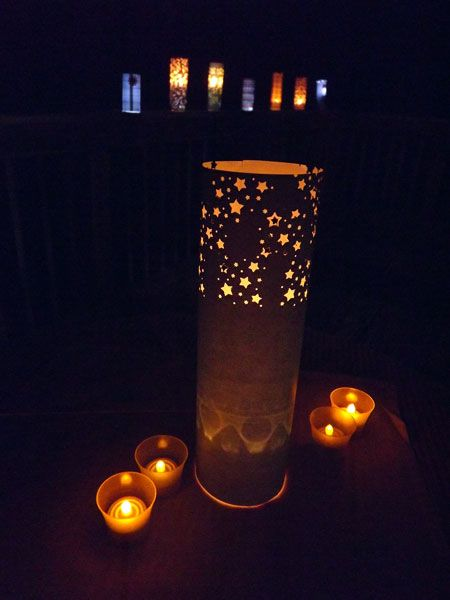 Martie Knows Parties - BLOG - Wedding or Party Decorations: Easy Paper Lanterns