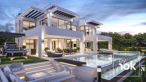 Modern Villa designed by Kristina O. Bräteng and the