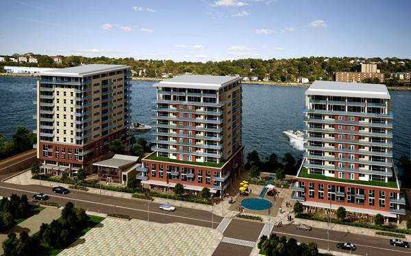 King S Wharf Dartmouth Ns New Condo Nova Scotia Urban Area