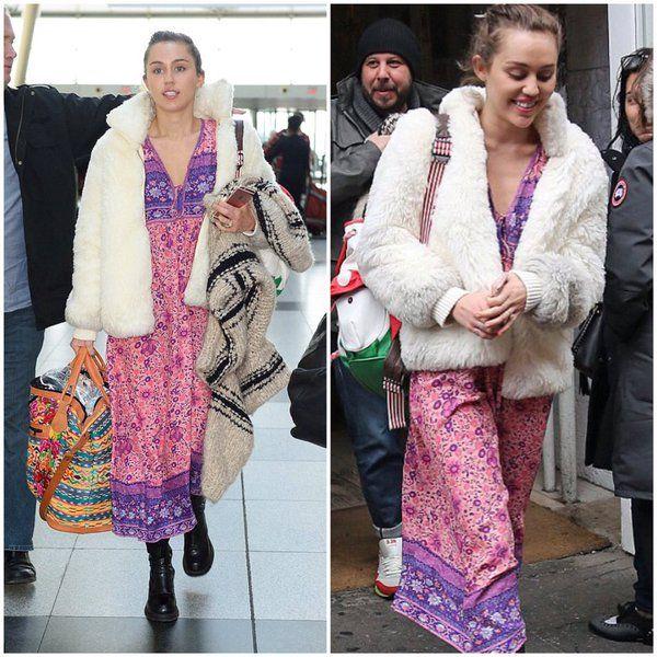 Miley cyrus maxi dress