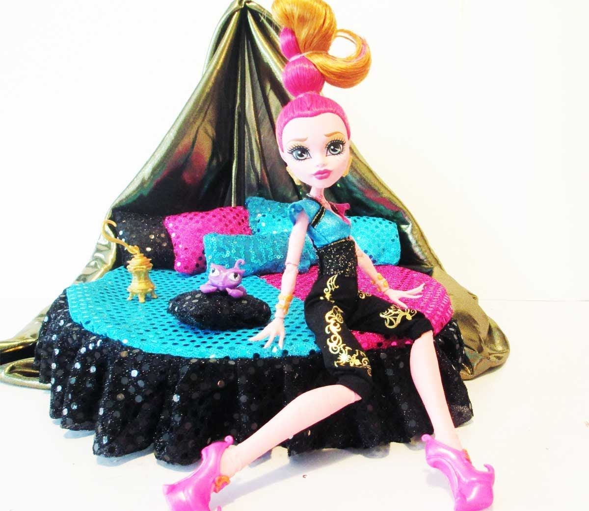 how to make a gigi grant doll bed tutorial monster high i found these great tutorial by chad. Black Bedroom Furniture Sets. Home Design Ideas