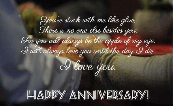 happy anniversary message to husband words of wisdom wedding