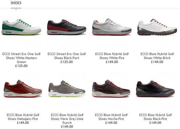 Ecco Golf Shoes For 2014