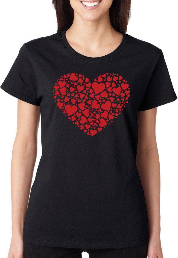 I Love Heart Sports Day Ladies T-Shirt