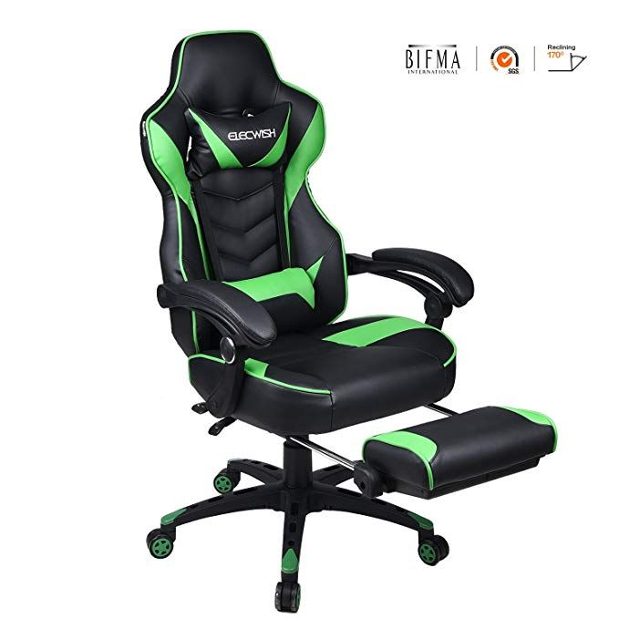 Surprising Ergonomic Computer Gaming Chair Large Size Pu Leather High Squirreltailoven Fun Painted Chair Ideas Images Squirreltailovenorg