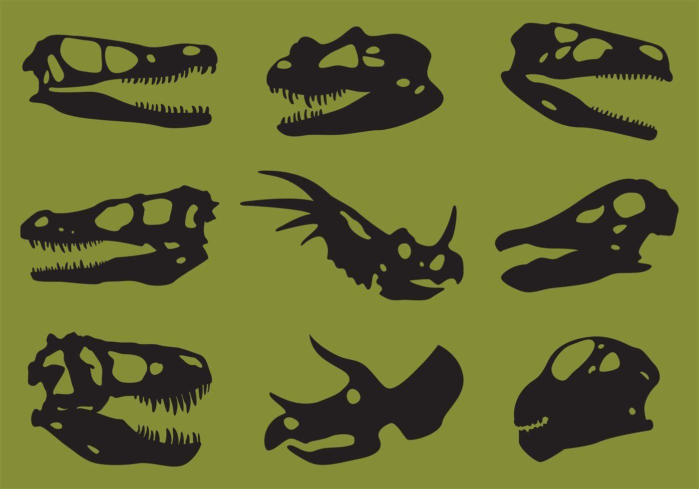 simple dinosaur silhouette - Google Search | Dinosaurs Silhouettes ...