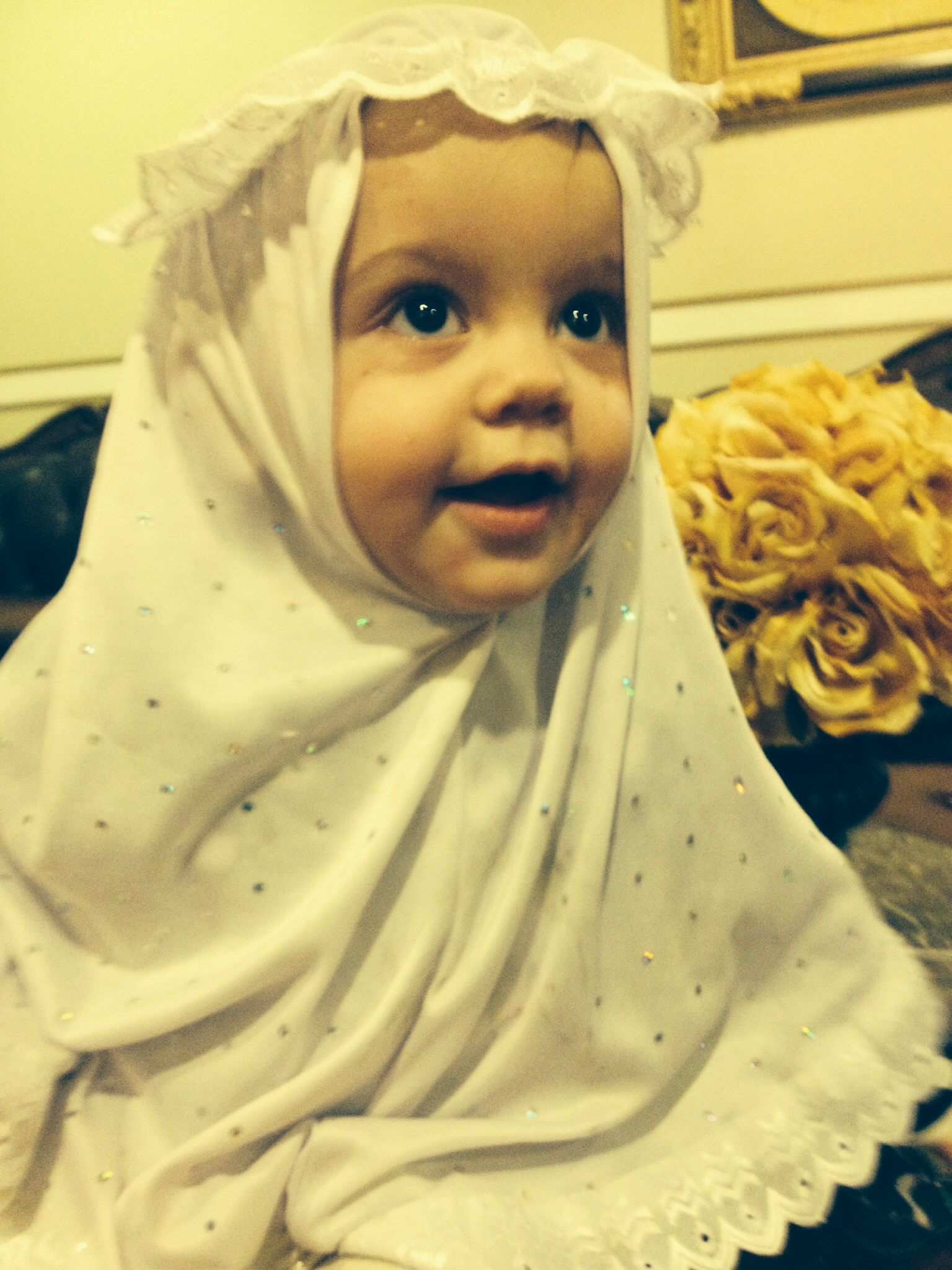 Baby Girl Hijab Beautiful Islam Pinterest Babies Hijabs And