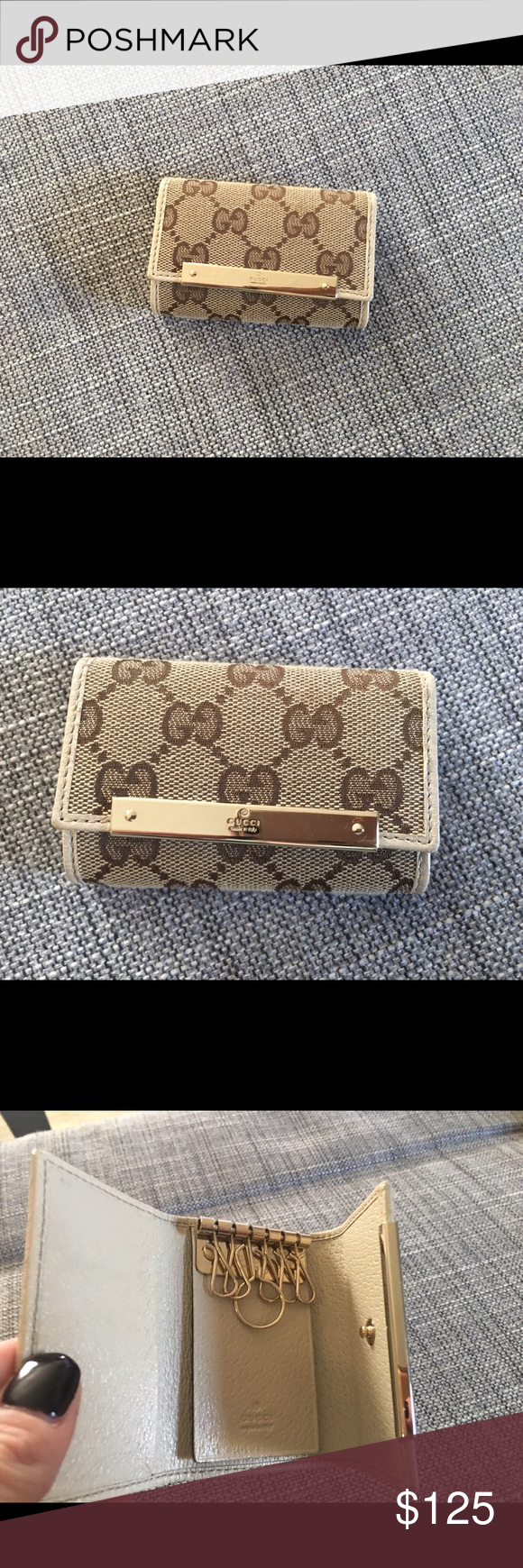 8f04edcebbc Authentic Gucci Key Holder