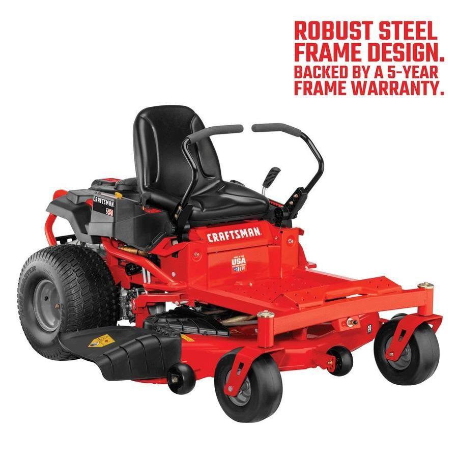 Craftsman Z550 23 Hp V Twin Dual Hydrostatic 50 In Zero Turn Lawn Mower With Mulching Capability 23hp 50in Capabili In 2020 Zero Turn Lawn Mowers Lawn Mower Mulching