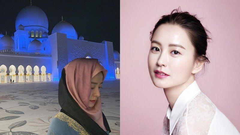 Heboh Artis Korea Jung Yu Mi Unggah Foto Berhijab Di Halaman Masjid Mualaf Korea Artis Aktris