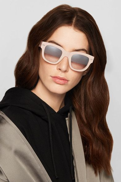 Square-frame Matte-acetate Sunglasses - Blush Acne Studios JbYyW