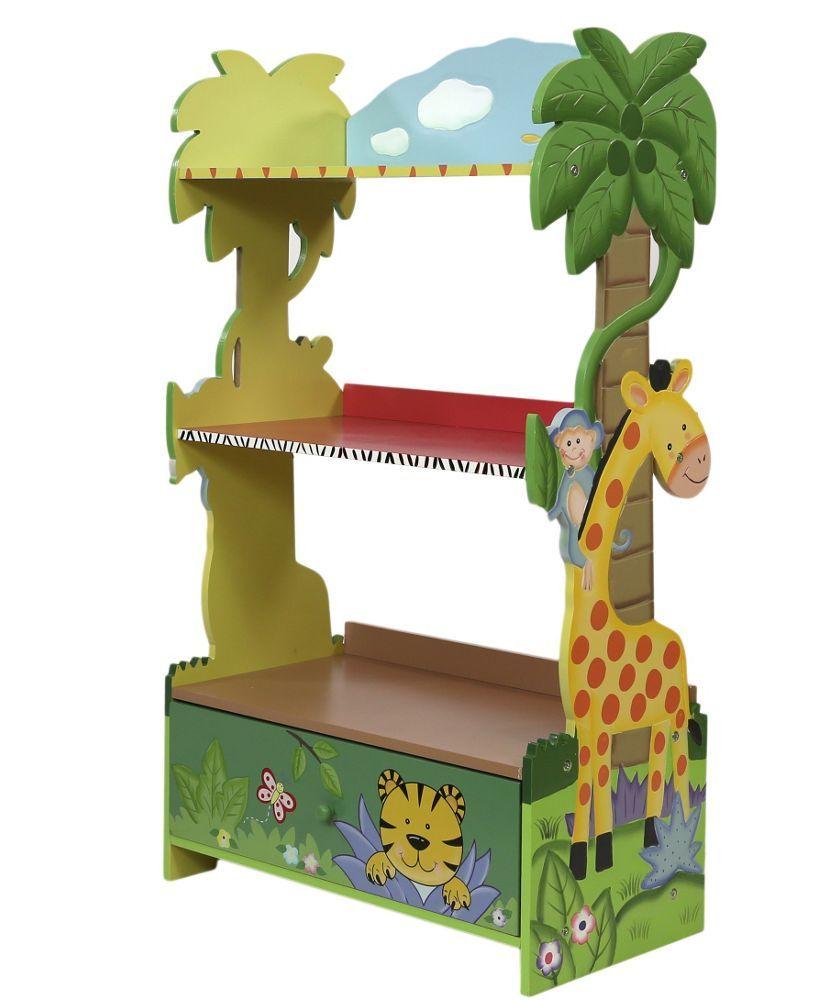 Kids wooden toy chest sunny safari - Buy Fantasy Fields Sunny Safari Bookcase At Argos Co Uk Your Online Shop Kid Bookshelvesbook Shelvesbookcaseswooden Furniturefurniture Storagetoy