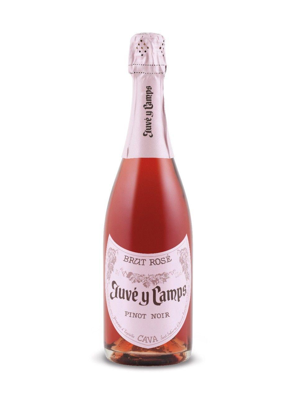 Juve Y Camps Pinot Noir Reserva Brut Rose Wine Bottle Pinot Noir Pinot
