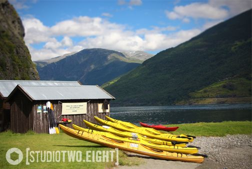 Flåm, Norway © Stacey Killmaier | Studio2Eight #travel #Norway #mountains #kayak #fjords