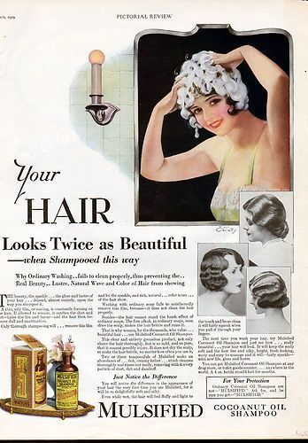 Image result for hair care 1920