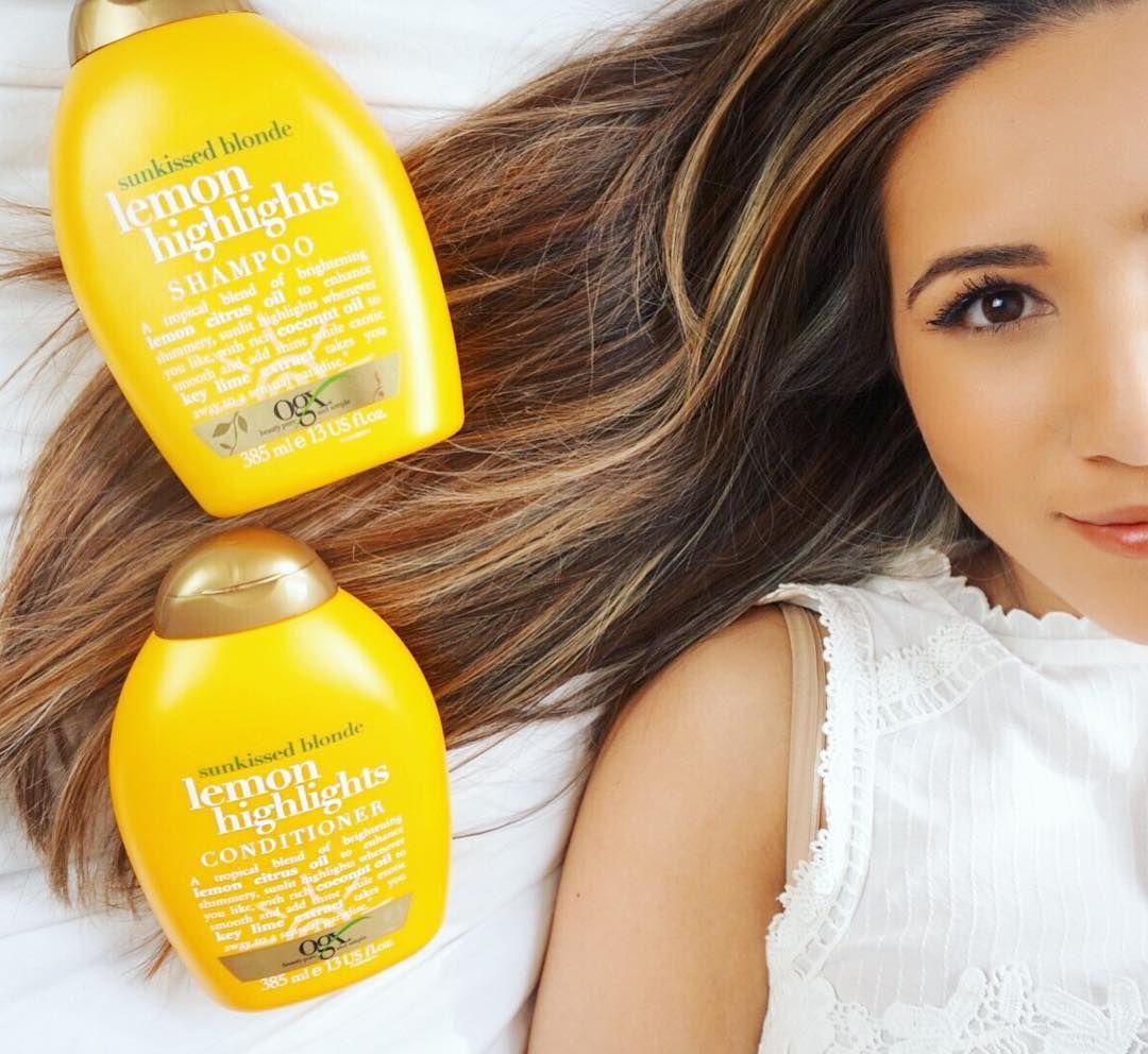 After my holiday the ogxbeautyuk lemon highlights shampoo after my holiday the ogxbeautyuk lemon highlights shampoo conditioner have saved my hair pmusecretfo Choice Image