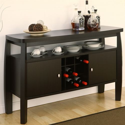Modern Dining Room Sideboard Buffet Server Console Table  Dining Captivating Dining Room Sideboards And Buffets Inspiration Design
