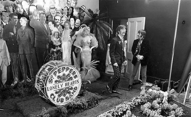 Sgt. Pepper's Cover Shoot