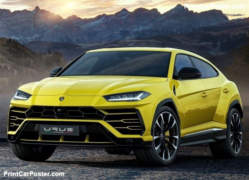 Lamborghini Urus 2019 Poster Id 1342195 Lamborghini