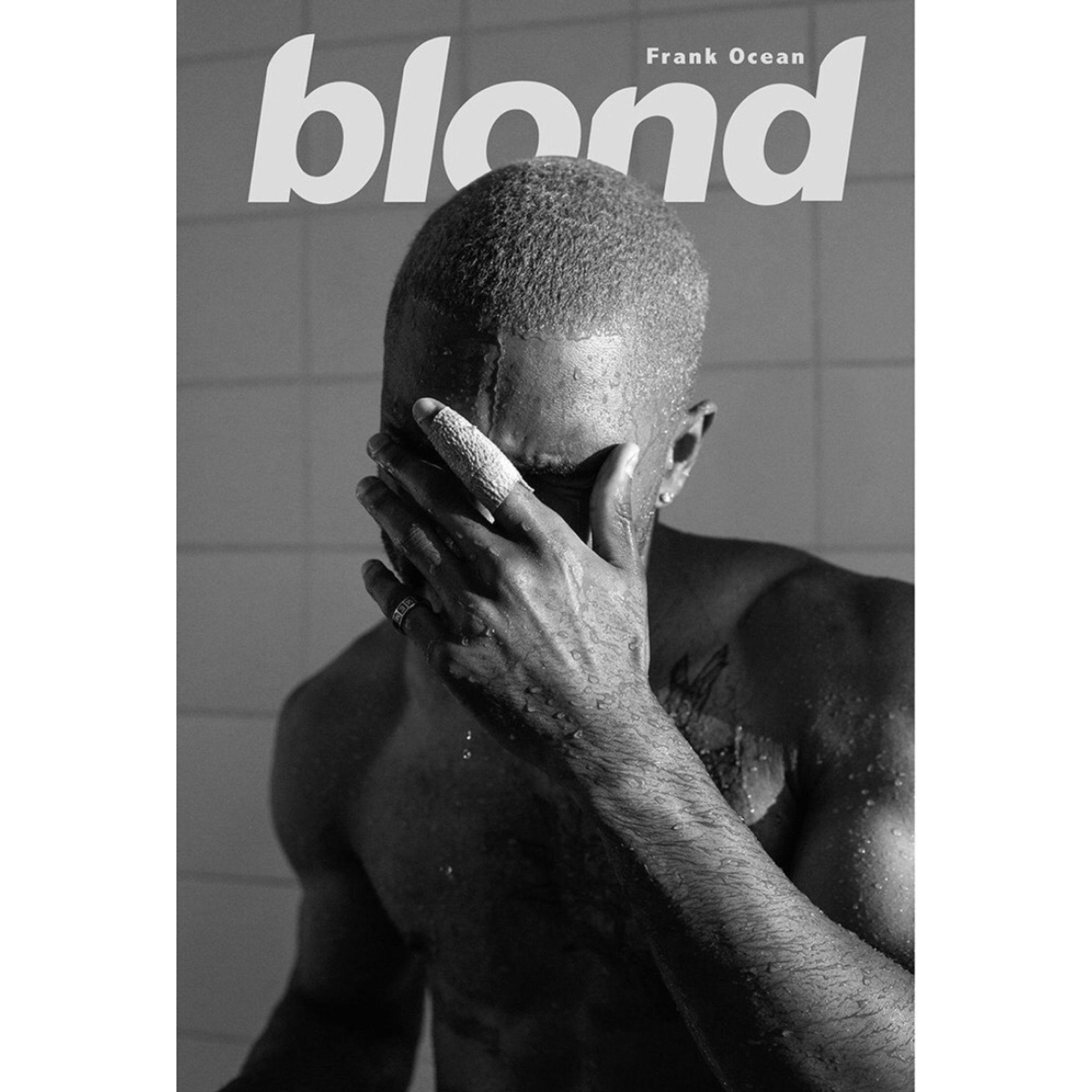 New Frank Ocean Blonded Custom Silk Poster Wall Decor