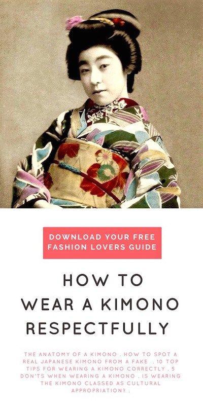 How to wear a Kimono   Kimono culture in Japan   Japanese ...