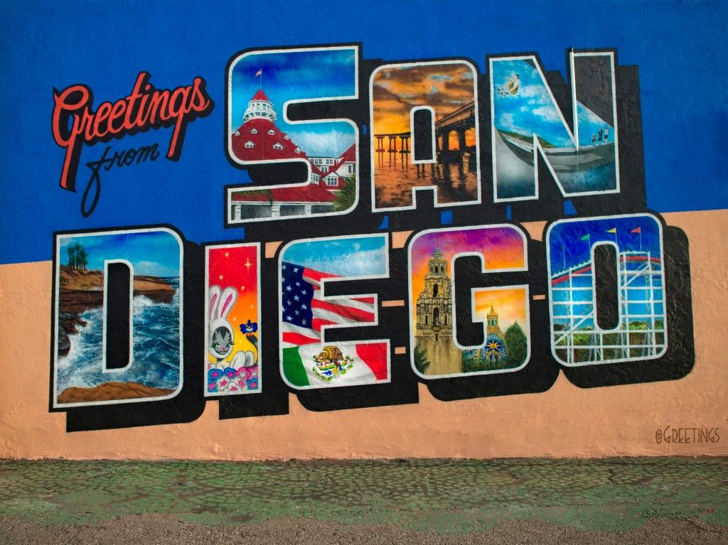 Greetings from San DiegoLocation 4223 30th St
