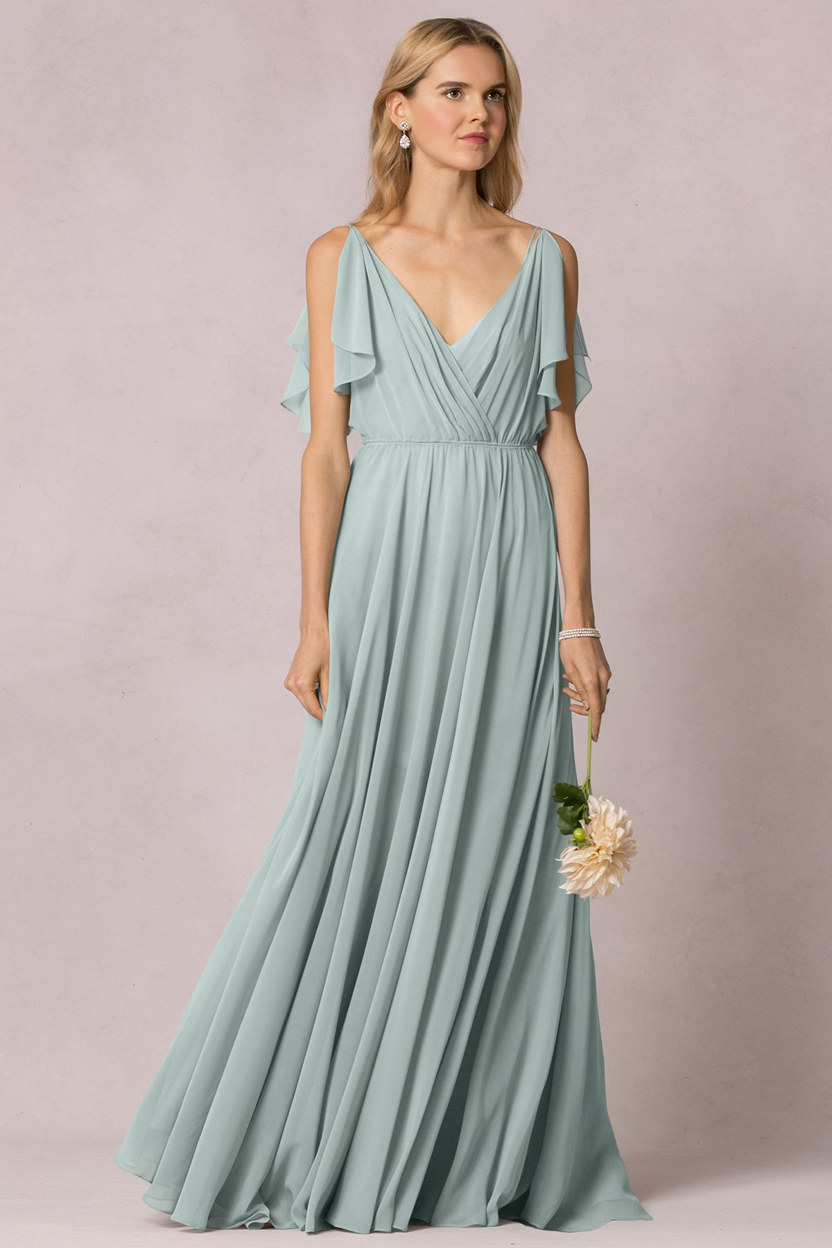 98ee1b55e1a Jenny Yoo Cassie - Morning Mist The dress!! -christine