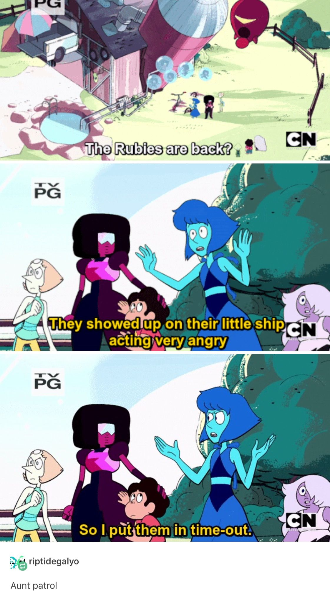 I Ve Always Thought Since Beta That Lapis Was The Aunt And