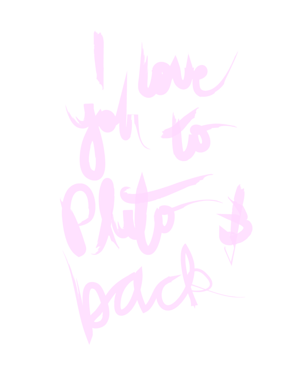 I love you to pluto and back words pinterest poem and
