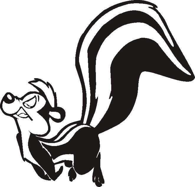 Cartoon Skunk Colouring Pages Favorite Cartoon Character Colouring Pages Cartoon