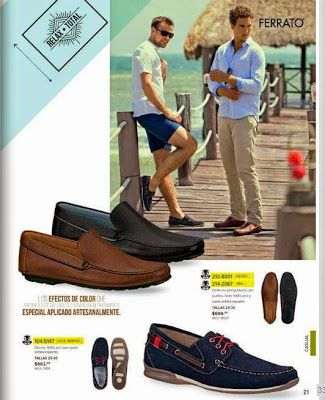 Ferrato calzado caballero: Catalogo Andrea Verano 2015