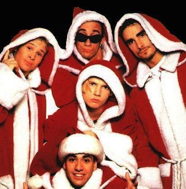 Image result for backstreet boys christmas meme
