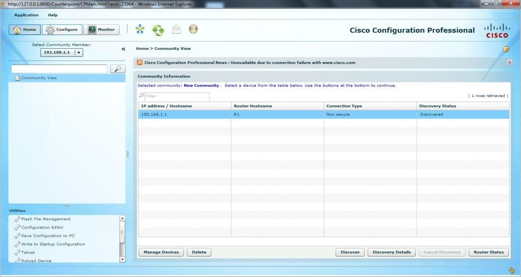 Cisco Configuration Professional 1 Ccna study guides