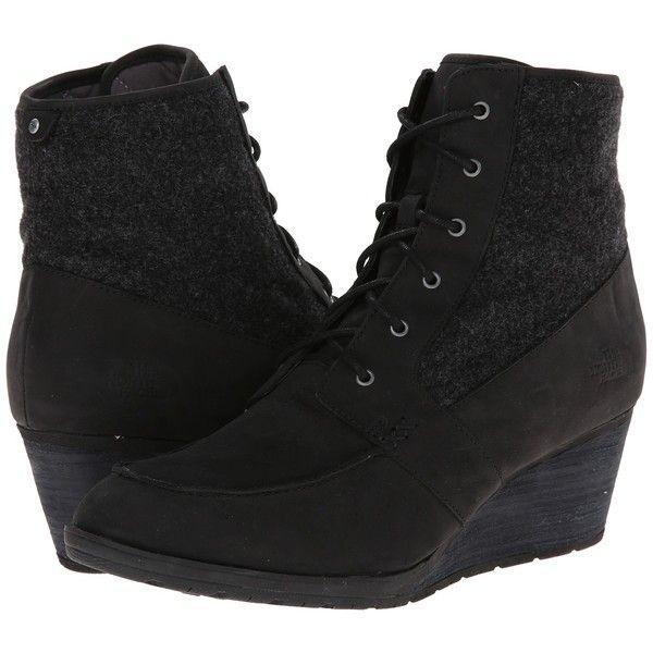 6611c9888 The North Face Bridgeton Wedge Lace Women's Boots, Black ($108 ...