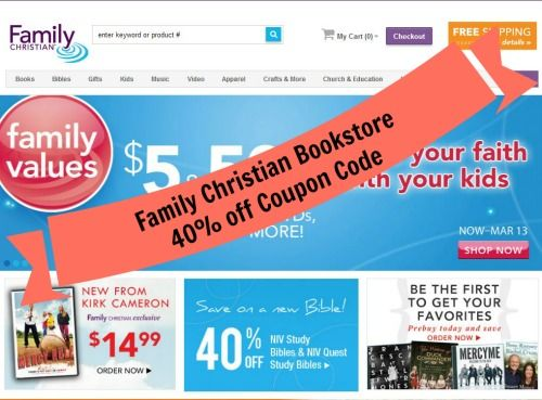 Coupons for Stores Related to familychristian.com