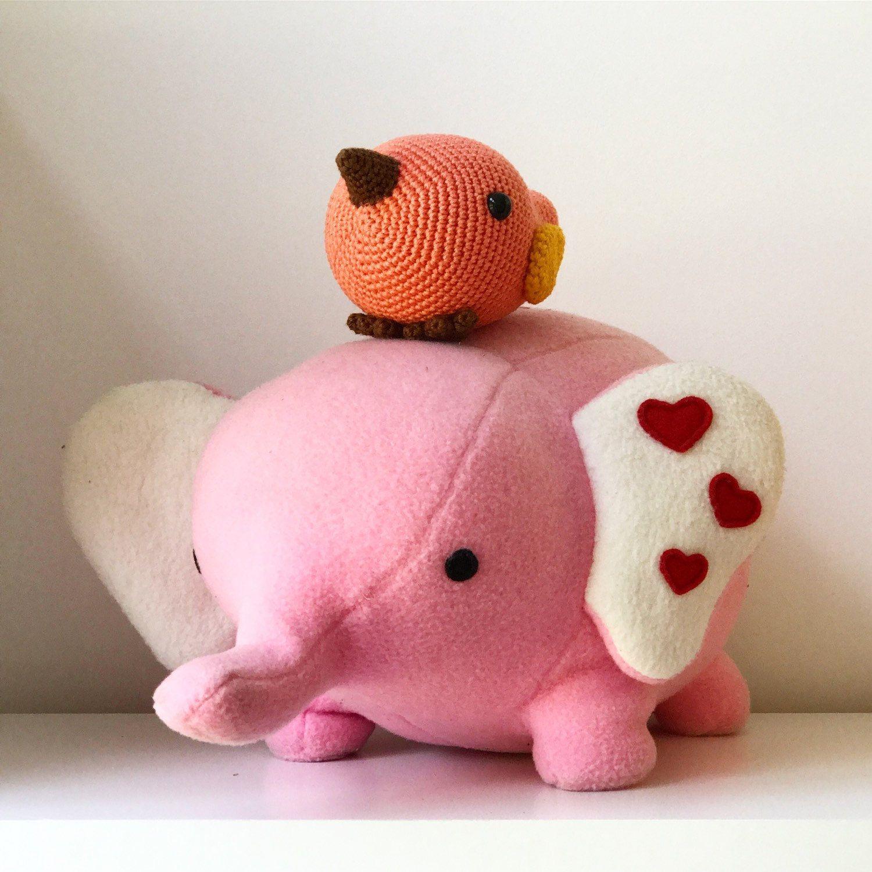 Love elephant plushie pdf sewing pattern soft toy patterns love elephant plushie pdf sewing pattern jeuxipadfo Gallery