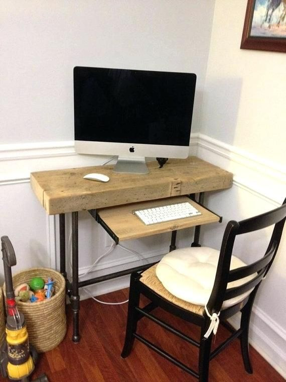 Desk Ideas Perfect For Small Spaces Desks For Small Spaces Diy Computer Desk Small Computer Desk
