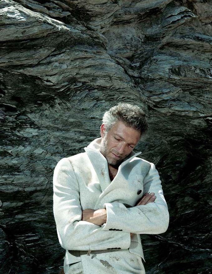 Венсан Кассель появился в фотосессии для журнала Madame Figaro. - Maaaan, I think I wanna have your baby