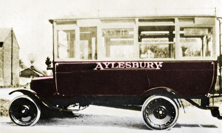 Aylesbury Bus At Tring