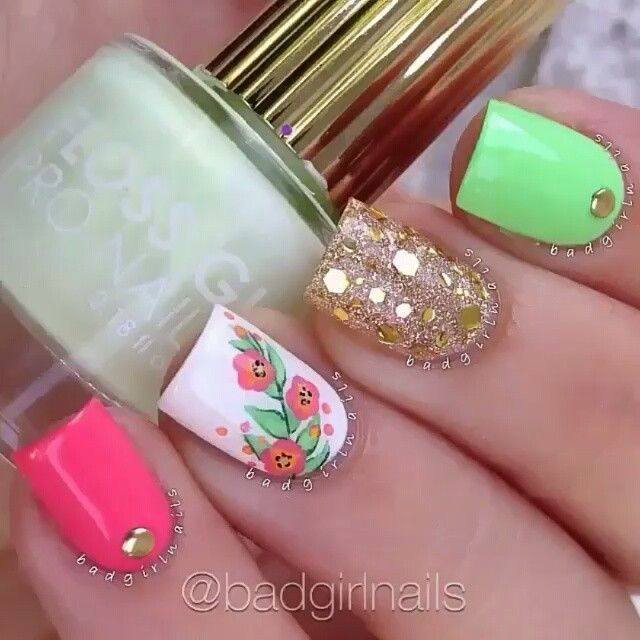 Hermoso Manicure Nails Por Badnails Canción Say My Name Odesza Feat Zyra