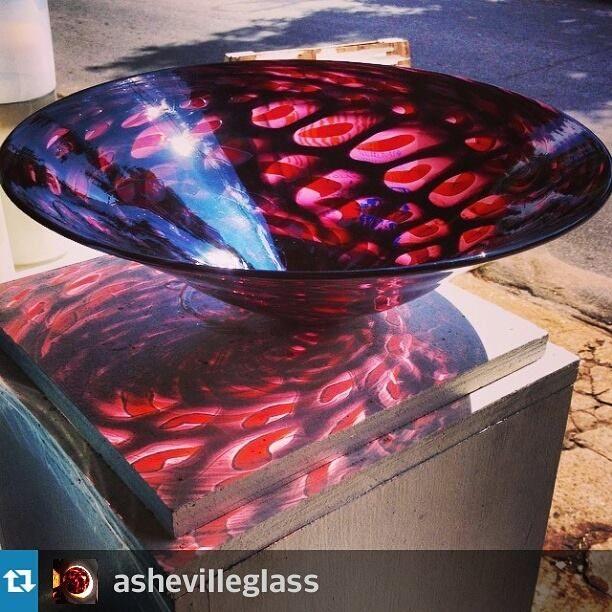River Arts District, Asheville, NC Hayden Wilson murrini bowl