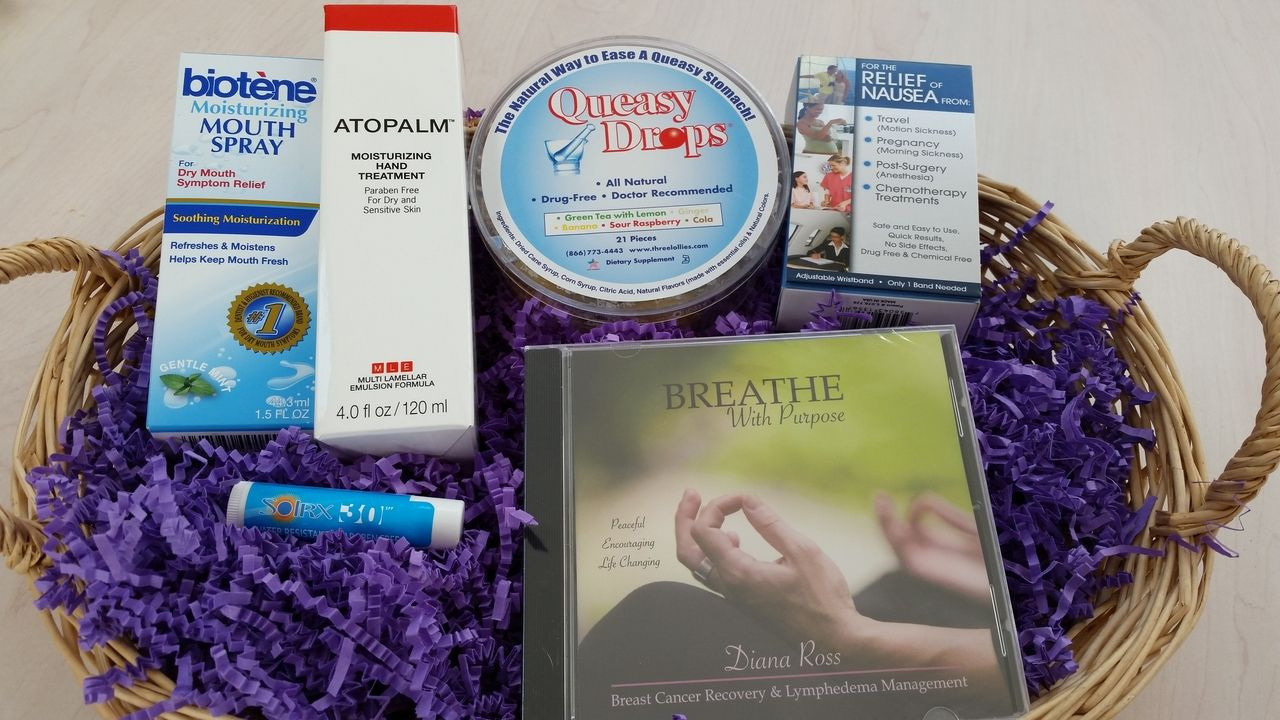 Deluxe Chemotherapy Gift Chemo Goody Bag Things To