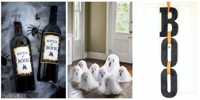 Homemade Halloween Decorations #HomemadeHalloweenDecorations, Home - homemade halloween decorations