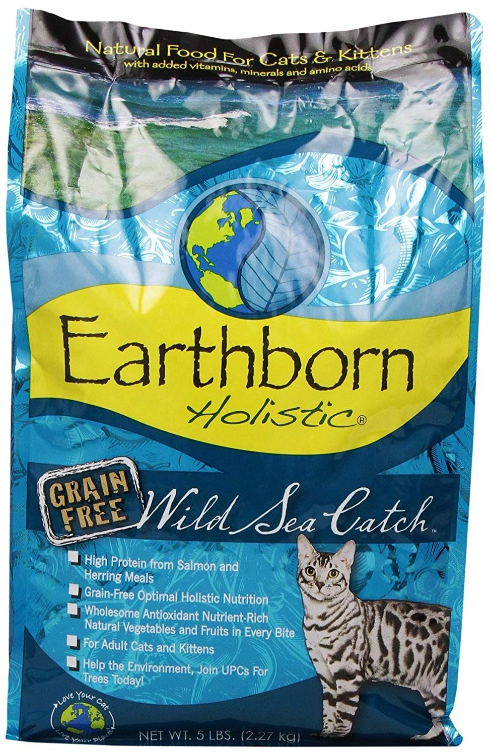 Earthborn Holistic Natural Grain Free Dry Cat Food Be Sure To