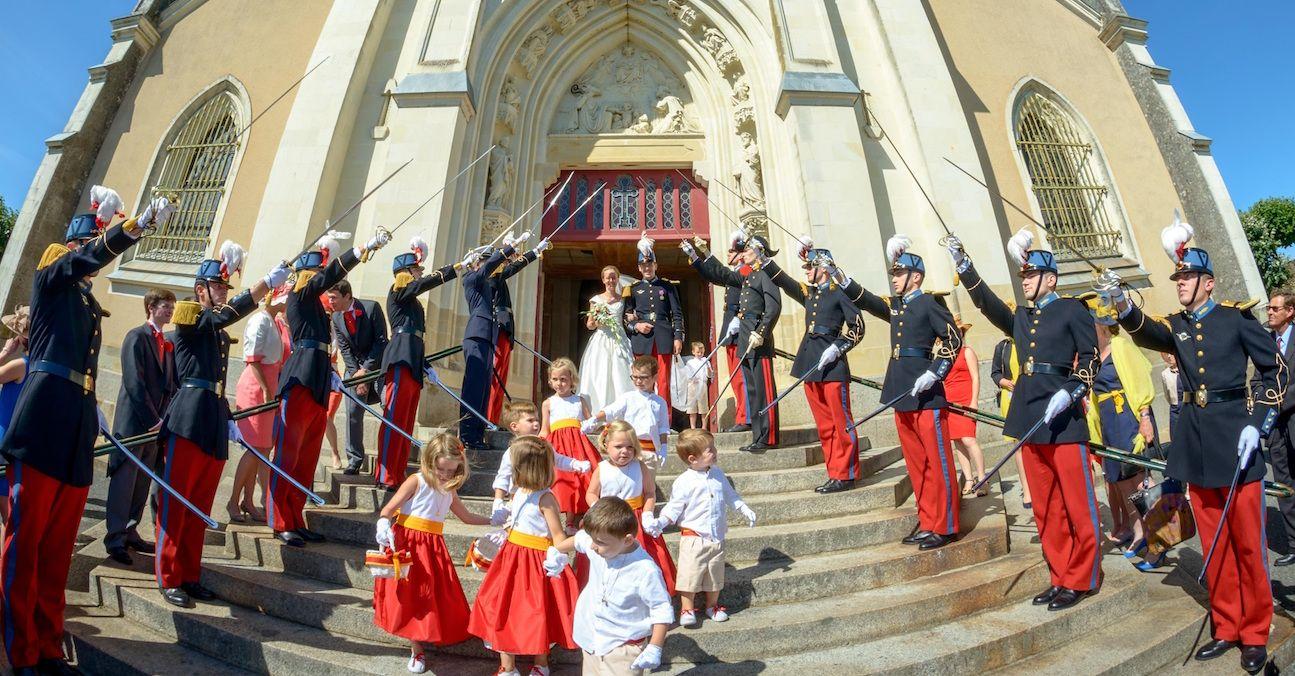 ESM Saint Cyr , Wedding