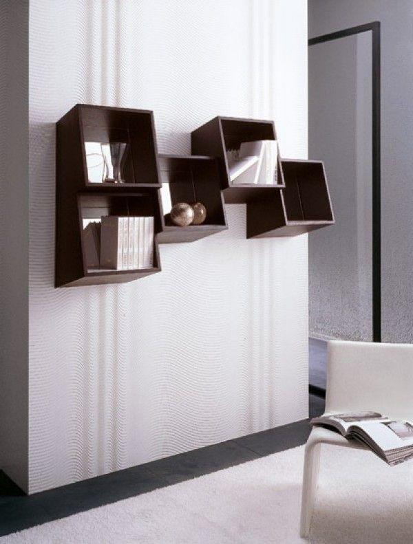 » Picchio Square Wall Mounted Shelf Design