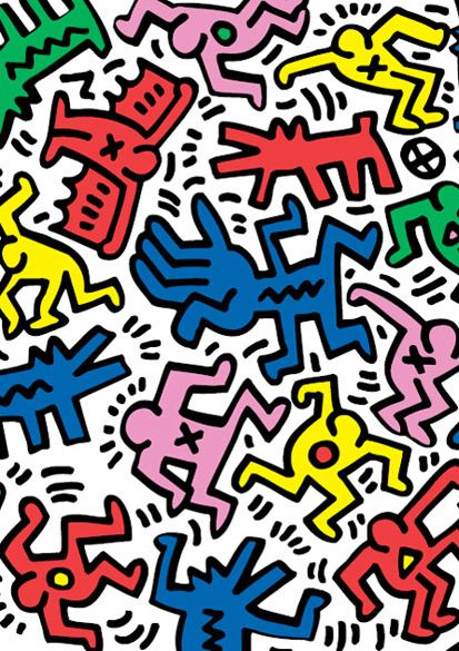 Keith Haring Keith Haring Art Haring Art Art Collage Wall