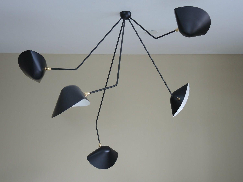 Serge mouille usa 5 falling arm ceiling lamp serge mouille serge mouille usa 5 falling arm ceiling lamp arubaitofo Choice Image