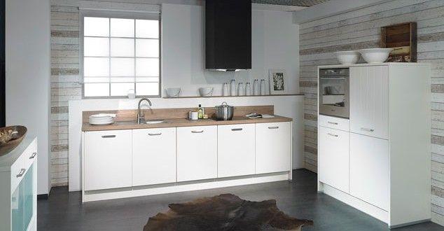 Goedkope maar zeer complete moderne impuls keuken in 3 delen
