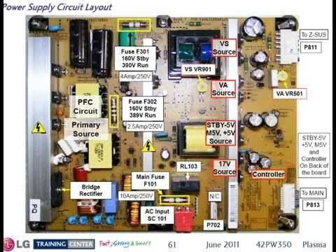 Lg 42pw350 Training Manual Elektronika Remont Radio